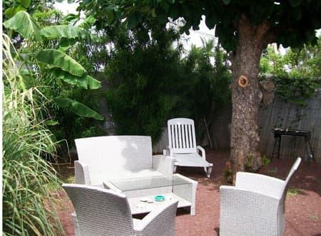 Salon de jardin studio Badamier