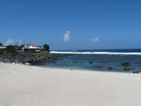 La petite plage de Terre Sainte