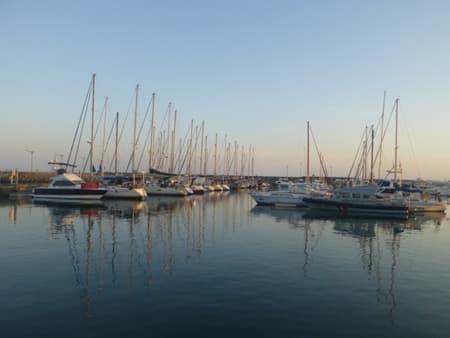 La marina de St Pierre