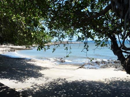 The jetty in Terre Sainte