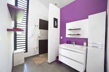 Bathroom - L'Hibiscus