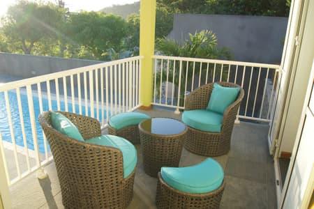 Espace salon terrasse