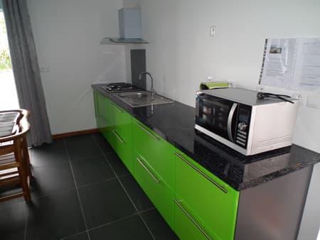 Small flat's kitchen