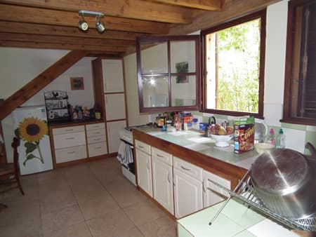 Kitchen of Villa Mango Ecolodge