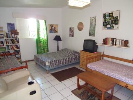 The bungalow's bedroom