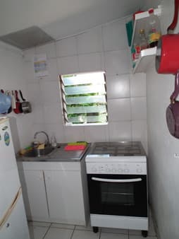 Kitchenette du bungalow