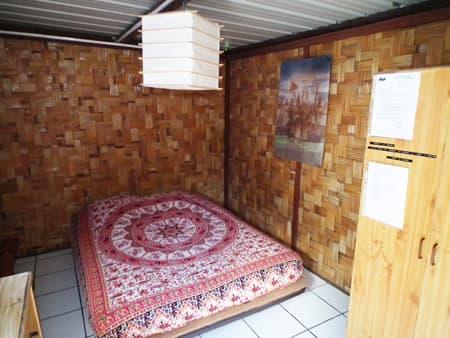 Le Flamboyant's bedroom