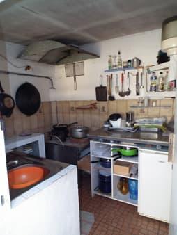 Petite cuisine d'extérieur