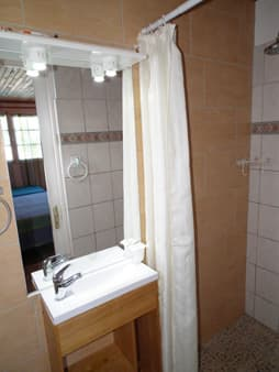 Bathroom for triple room