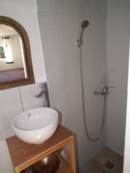 Bathroom Manapany bungalow