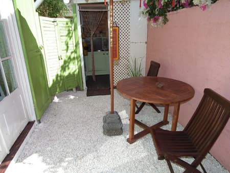 Terrasse Bungalow Manapany Villa-Mango's