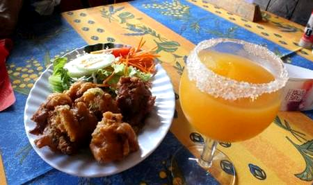 Punch and fritters