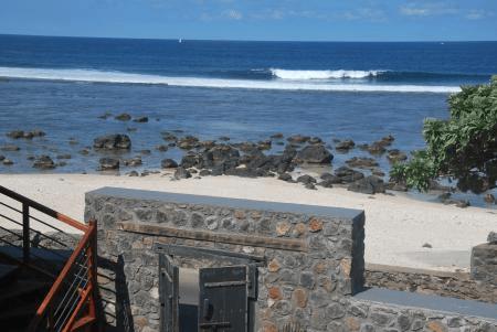 La plage de Terre Sainte