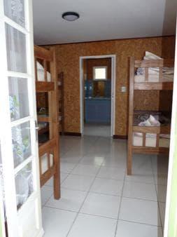 Dorm of 6 bunk beds