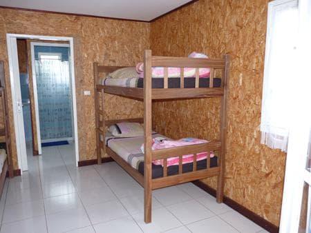 Un dortoir de 4 places