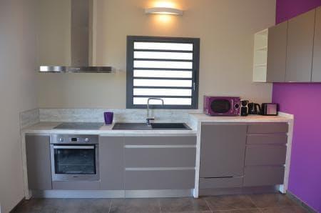 Kitchen in suite Grand Cru