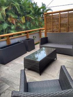 Terrasse privative CocoNut