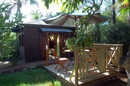 Bungalow Alamanda - Terrasse