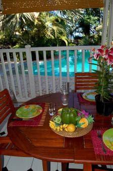Bungalow Ylang1 - Terrasse et piscine