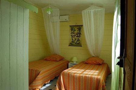 Bungalow Ylang1 - Chambre 2 lits