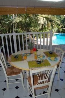 Bungalow Ylang2 - Piscine et terrasse