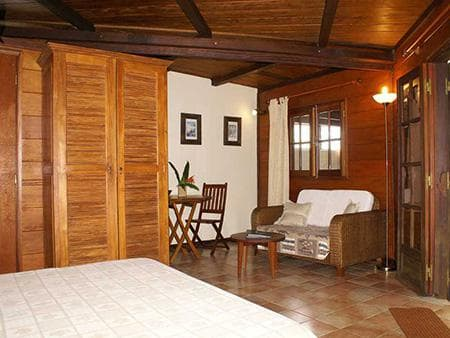 Bungalow Baobab - Chambre salon
