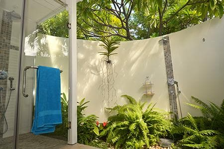The open air bathroom