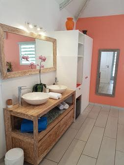Salle d'eau Baie Rose