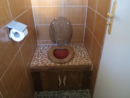 The dry toilet