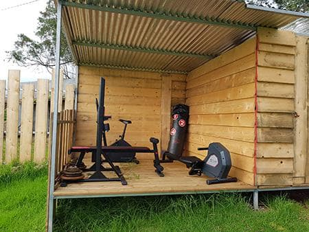 The fitness corner