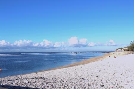 Saint Pierre beach