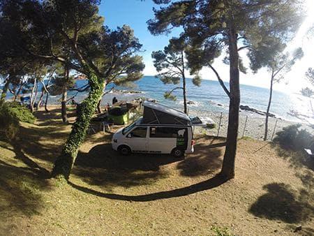 Van California - Location Blacksheep Réunion