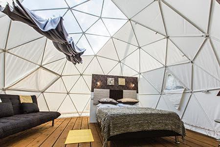 Bubble Dome Village Petite Île