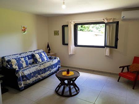 Le canapé-lit du Ti Jamblos