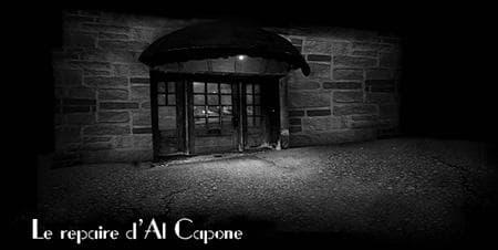 In Al Capone's lair