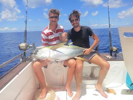 Blue Pêche au Gros Réunion
