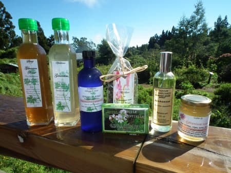 Geranium based products