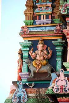 The Religious Tour - Tamil temple