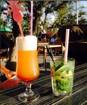Three cirque cocktail, Cucumber Mojito