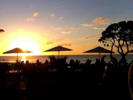 Coucher de soleil au Ti Boucan