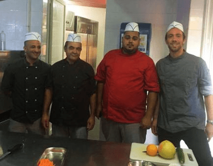 The cooking team