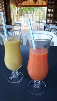 Cocktails de fruits frais Le Westy