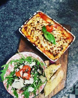 Lasagna to go!