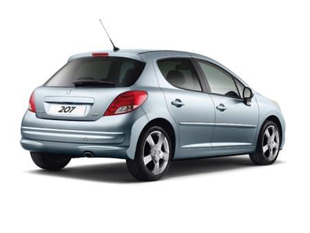 Peugeot 207 - Photo non contractuelle