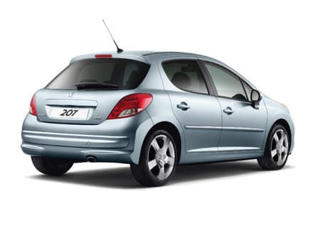Peugeot 207 - Non contractual photo