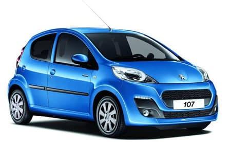 Peugeot 107 - Non contractual photo