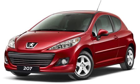 Peugeot 207 - Photo non contactuelle