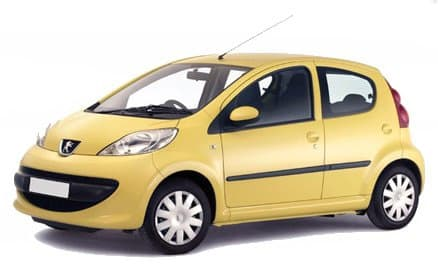 Peugeot 107 - Photo non contractuelle