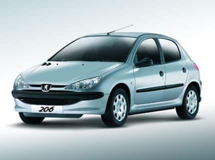 Peugeot 206 - Photo non contractuelle