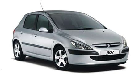 Peugeot 307 - Photo non contractuelle